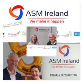 Alan Sparling (ASM Ireland) was delighted to welcome back Carole Smith, who takes care of PR & Social Media for ASM, to the Skerries HQ for a long overdue face to face meeting