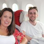 Isabel Russell (Freedom Travel) and Lorcan Keegan (Ethiopian Airlines)