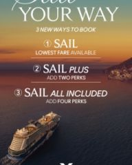 3 NEW WAYS TO BOOK YOUR CUSTOMERS' CELEBRITY CRUISES HOLIDAY