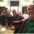 Dave O'Hagan (Donabate Travel), John Spollen (Cassidy Travel) and Tony Brazil (Limerick Travel)