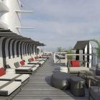 The redesigned The Retreat Sundeck on Celebrity Silhouette