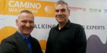 Volker Lorenz (CCO Camino Ways) With Andre