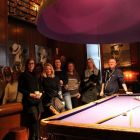 Frank McCaffrey (Account Manager Delta Airlines) with the CWT group in the very trendy Redbury Hotel