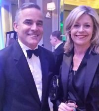 John Hurley (DAA) winners of the Best International Access Initiative and Yvonne Muldoon (Sales Director Aer Lingus) finalists in the Best International Access Initiative