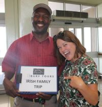 Isaac (Guide) and Rachel Lewis (South Africa Tourism)