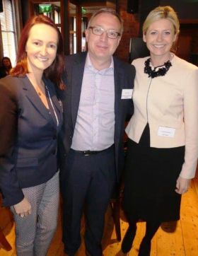 Jenny Rafter (Head of Leisure sales Aer Lingus), Rob Wilson (Head of Sales and Marketing Travel and Tourism - Four Communications) and Yvonne Muldoon (Sales Director Aer Lingus)