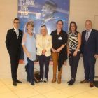 Razz (Magellan), Gina Quinn (Travel Counsellors), Jacinta Mc Glynn (Travelbiz), Amanda Wolohan (O'Donohoe Travel), Caroline O'Toole (Fahy Travel) and James Mc Ginley (JMG Travel)