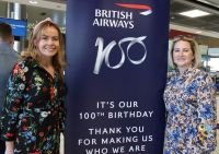 Hosts, Caitriona Toner (American Airlines) and Tara Magee (British Airways)