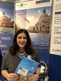 Mandy Burrie (Celebrity Cruises) at Holiday World Belfast