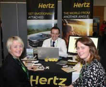 Jason Kearns (Hertz Ireland) Travel Trade Show 2018.