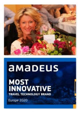 Amadeus has won the 'Most Innovative Travel Technology Brand, Europe' at the Global Brand Awards 2020, by Global Brand Magazine (Brands).