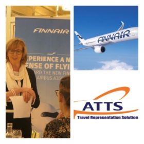 Finnair are represented in Ireland by ATTS