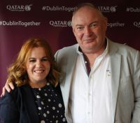 Rebecca Kelly (MSC Cruises) and David O'Grady (eTravel)
