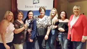 Marie McCarthy (Passenger Sales Manager UK & Ireland) hosted travel industry colleagues, guests and Travelbiz.ie, to a VIP view of the parade and fireworks from the Penthouse Balcony of the Granville Hotel
