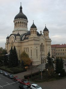 View of Cluj-Napoca from Beyfin Hotel.