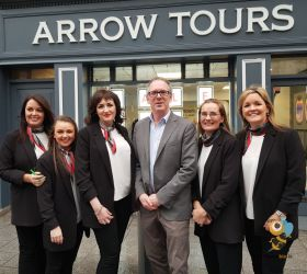 Arrow Tours official opening of their refurbished premises