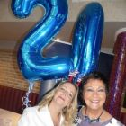 Happy 20th United with Martina Coogan and Maureen Ledwith.