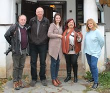 Tom Sweeney (Evening Herald), Jim Gallagher (Sunday World), Lulia Stancu (Count Kalnoky's Guesthouse), Aileen Eglington (AE Consulting) and Eleanor Goggin (Sunday Independent).