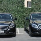 The fleet of Lord's Palace Hotel Mercedes cars. Note the registration plates.....