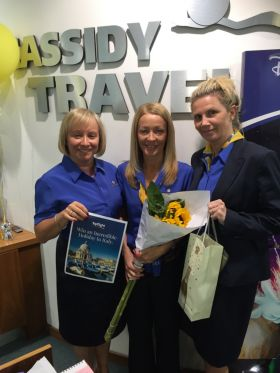 Natalie, Sandra and Sara (Cassidy Travel Dundrum)