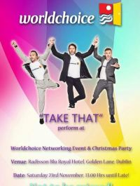 """Worldchoice """"Take that"""" Christmas Party Date"""