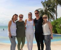 Helen Hendley (Sunway), Mandy Walsh (Travel Counsellors), Lynne Keane (Travel Counsellors), Onur Gul (Turkish Airlines) and Katarina Trinikova (J Barter Travel Cork)