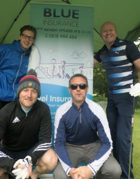 Team Blue Insurance at the Big Event Golf Classic