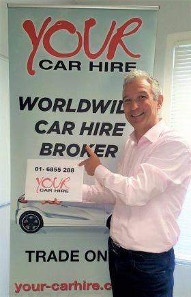 Alan Sparling. Your Car Hire celebrate two years in Ireland with ASM.