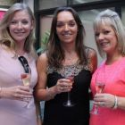 Celine Kenny (Cruisescapes), Tanya Airey and Deirdre Sweeney (both Sunway Holidays).