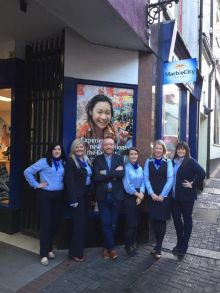 Tom Britton and the Marble City Travel Team in Kilkenny