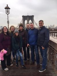United Airlines & Fitzpatrick's Hotels host FCm Travel Solutions in the Big Apple.