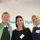 Frances Grogan (Grogan Travel), Riona Mc Grath (Country Manager Travelport) and Jacqueline Clynch (Bookabed)