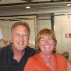 Don Shearer (CEO Travelbiz) with Margaret Duggan Roper (Grenham Travel)