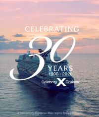 Celebrity Cruises marks 30th birthday