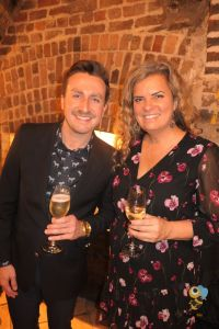 Jake Copeskey (Travel Trade Manager BHCVB) with Kristin Skinner (American Holidays