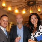 Onur Gull (Turkish Airlines) with Chris and Lisa