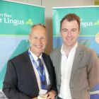 J Scott Gulimartin (CAA) and Dermot Lee (Sales Operations Manager Aer Lingus)