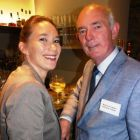 Anita de Jager-Brown (Kimpton Amsterdam) with Richard Cullen (Killiney Travel)