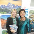 Yvonne Muldoon (Aer Lingus) with Maureen Ledwith (Holiday World)