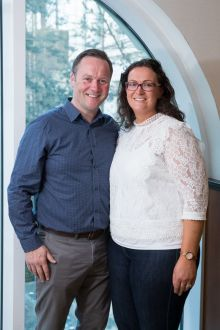 Travel Counsellor Sarah McCarthy and her husband Donagh McCarthy