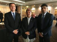 Mr Diego Barcelo (CEO Communicacion Iberoamericana), Mr Hikmat Singh Ayer (Senior Director, Nepal Tourism Board) and Mr Jitendra Bhattarai (Manager Nepal Tourism Board).