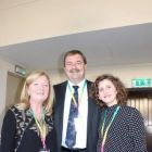 Kathryn Mc Donnell (Spanish Tourist Office), John Keogh (Aer Lingus) and Sara Lopez Rivero (Spanish Tourist Office)