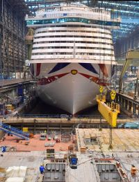 CLIA Exclusive Meyer Werft Shipyard visit for agent members