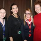 Rosie Carr, Irene Onorati, Laura Burke and Niamh Shortt (all Club Travel)
