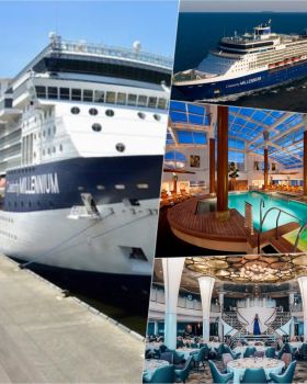 Celebrity Cruises returned to the Caribbean last week as Celebrity Millennium set sail with guests from St. Maarten