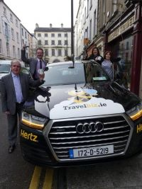 Buzzing all over the Deise! Hertz Ireland Travelbiz Four wheel hive @ Harvey Travel Waterford