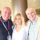 Cormac Meehan (Meehan Travel), Susan Jackson (Aiken PR) and Paul Clements (N.I Travel News)
