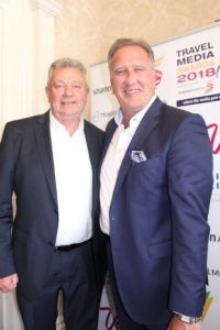 Travel Media Awards 2018. Peter and Don went to the same tailor.