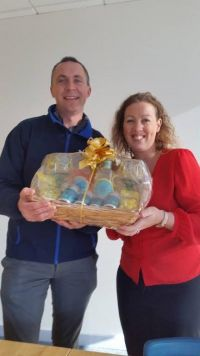 Maurice and Shauna have hampers to give away