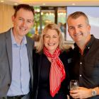 Tom Randell (J Barter Travel), Alana Byrne (MSC Cruises) and John Barrett (Magic Vacations)